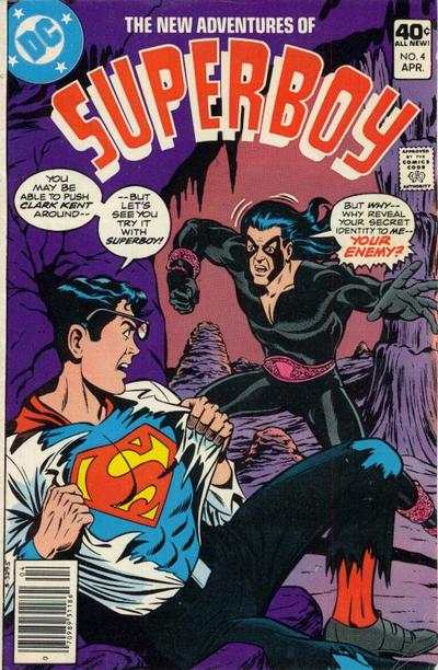 New Adventures of Superboy #4 comic books for sale