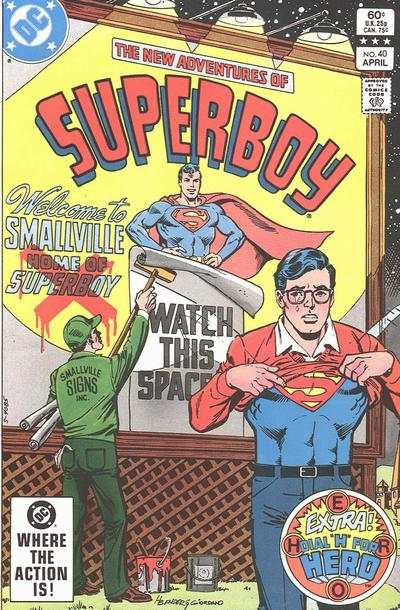 New Adventures of Superboy #40 Comic Books - Covers, Scans, Photos  in New Adventures of Superboy Comic Books - Covers, Scans, Gallery