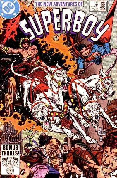 New Adventures of Superboy #49 comic books for sale