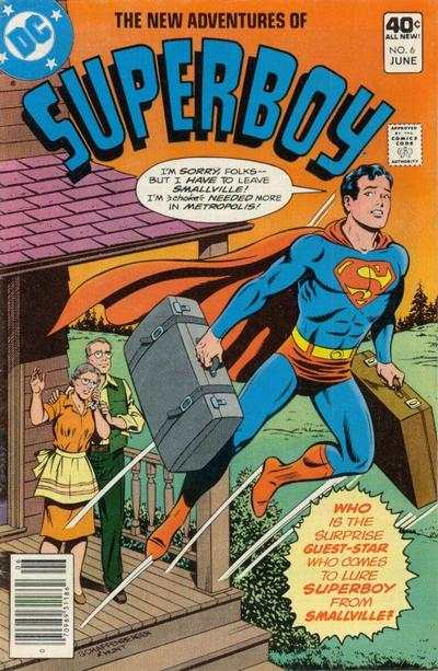 New Adventures of Superboy #6 comic books for sale
