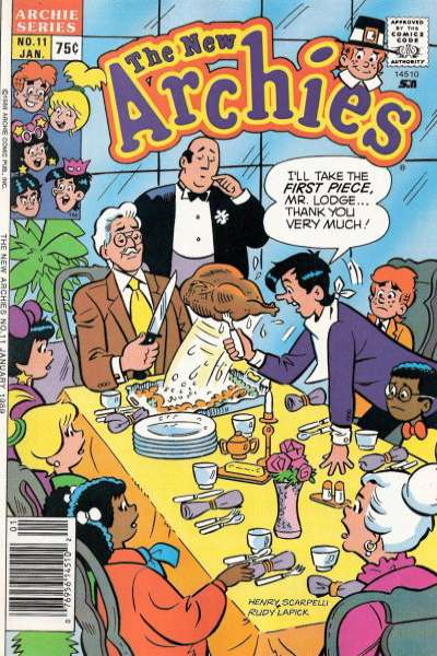 New Archies #11 Comic Books - Covers, Scans, Photos  in New Archies Comic Books - Covers, Scans, Gallery