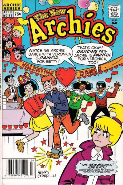 New Archies #13 comic books - cover scans photos New Archies #13 comic books - covers, picture gallery