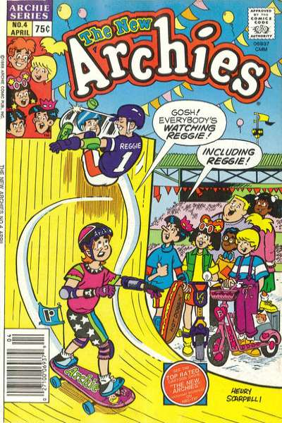 New Archies #4 comic books for sale
