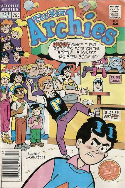 New Archies #9 comic books - cover scans photos New Archies #9 comic books - covers, picture gallery