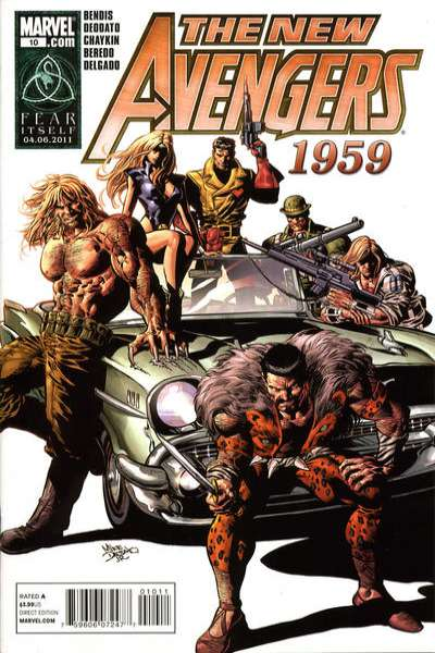 New Avengers #10 Comic Books - Covers, Scans, Photos  in New Avengers Comic Books - Covers, Scans, Gallery