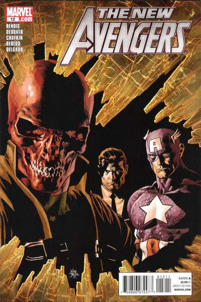 New Avengers #12 Comic Books - Covers, Scans, Photos  in New Avengers Comic Books - Covers, Scans, Gallery