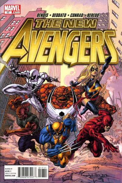 New Avengers #17 comic books - cover scans photos New Avengers #17 comic books - covers, picture gallery