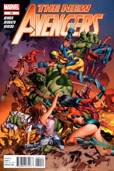 New Avengers #20 Comic Books - Covers, Scans, Photos  in New Avengers Comic Books - Covers, Scans, Gallery