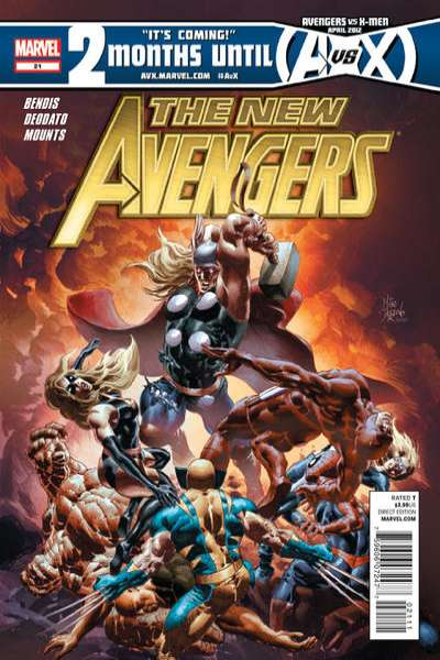 New Avengers #21 Comic Books - Covers, Scans, Photos  in New Avengers Comic Books - Covers, Scans, Gallery