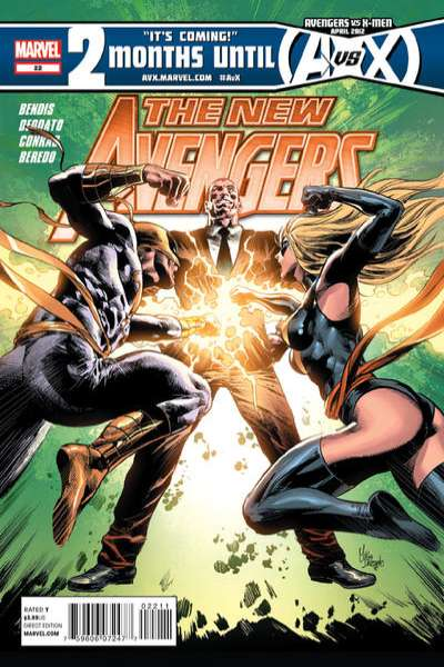 New Avengers #22 comic books - cover scans photos New Avengers #22 comic books - covers, picture gallery