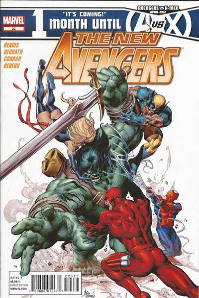 New Avengers #23 Comic Books - Covers, Scans, Photos  in New Avengers Comic Books - Covers, Scans, Gallery