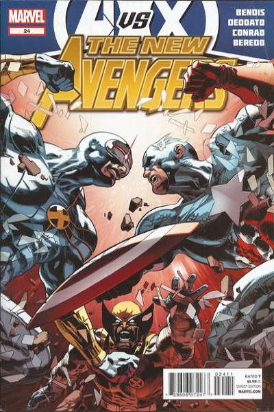New Avengers #24 comic books - cover scans photos New Avengers #24 comic books - covers, picture gallery