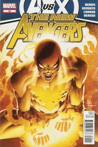 New Avengers #25 Comic Books - Covers, Scans, Photos  in New Avengers Comic Books - Covers, Scans, Gallery