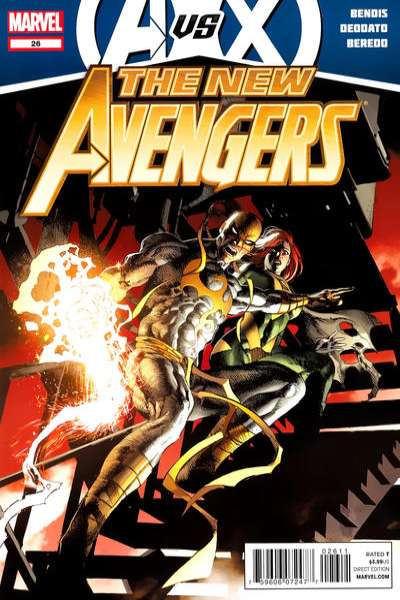 New Avengers #26 Comic Books - Covers, Scans, Photos  in New Avengers Comic Books - Covers, Scans, Gallery