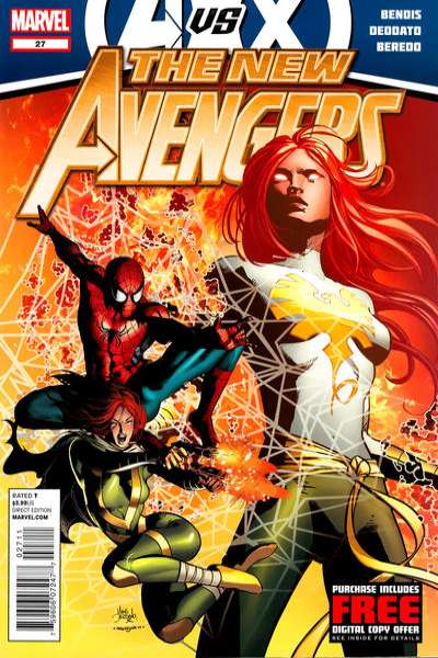 New Avengers #27 Comic Books - Covers, Scans, Photos  in New Avengers Comic Books - Covers, Scans, Gallery