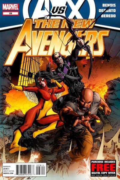 New Avengers #28 Comic Books - Covers, Scans, Photos  in New Avengers Comic Books - Covers, Scans, Gallery