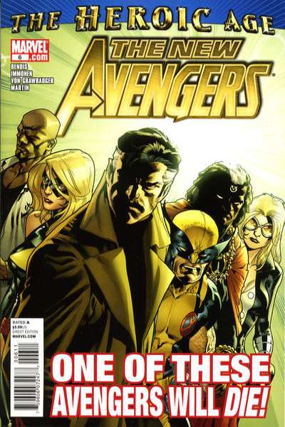 New Avengers #6 Comic Books - Covers, Scans, Photos  in New Avengers Comic Books - Covers, Scans, Gallery