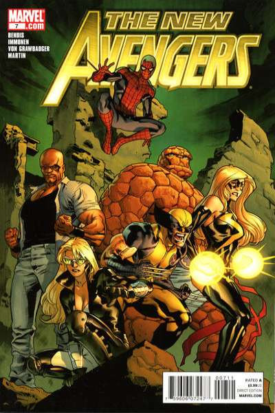 New Avengers #7 comic books - cover scans photos New Avengers #7 comic books - covers, picture gallery