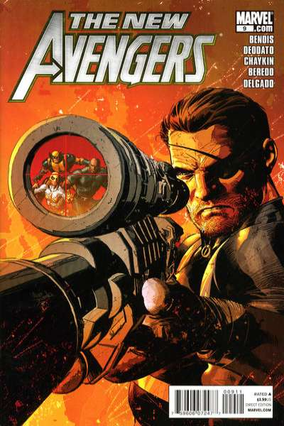 New Avengers #9 comic books for sale