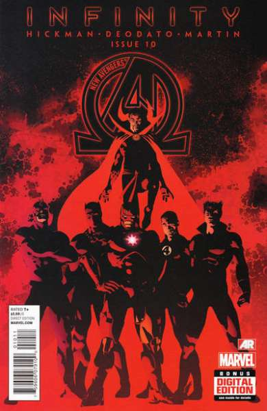 New Avengers #10 comic books - cover scans photos New Avengers #10 comic books - covers, picture gallery