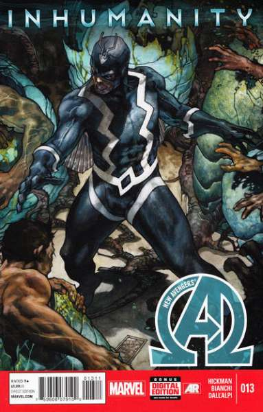 New Avengers #13 Comic Books - Covers, Scans, Photos  in New Avengers Comic Books - Covers, Scans, Gallery
