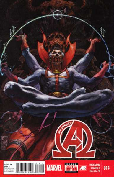 New Avengers #14 comic books - cover scans photos New Avengers #14 comic books - covers, picture gallery