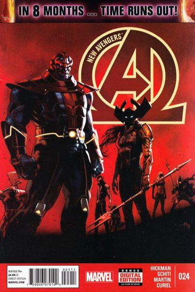 New Avengers #24 Comic Books - Covers, Scans, Photos  in New Avengers Comic Books - Covers, Scans, Gallery