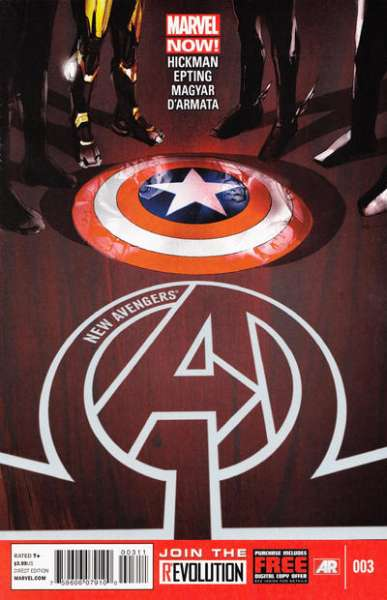 New Avengers #3 comic books - cover scans photos New Avengers #3 comic books - covers, picture gallery