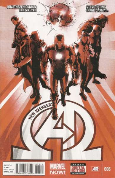New Avengers #6 comic books - cover scans photos New Avengers #6 comic books - covers, picture gallery