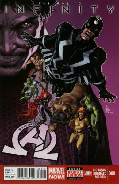 New Avengers #8 comic books - cover scans photos New Avengers #8 comic books - covers, picture gallery