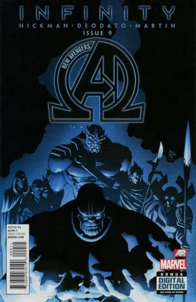 New Avengers #9 comic books - cover scans photos New Avengers #9 comic books - covers, picture gallery