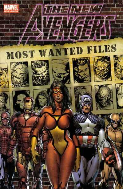 New Avengers: Most Wanted Files comic books