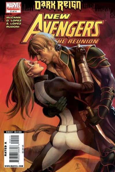New Avengers: The Reunion #2 Comic Books - Covers, Scans, Photos  in New Avengers: The Reunion Comic Books - Covers, Scans, Gallery