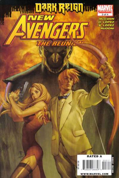 New Avengers: The Reunion #3 comic books - cover scans photos New Avengers: The Reunion #3 comic books - covers, picture gallery