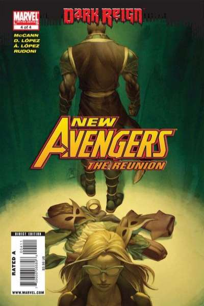 New Avengers: The Reunion #4 comic books - cover scans photos New Avengers: The Reunion #4 comic books - covers, picture gallery