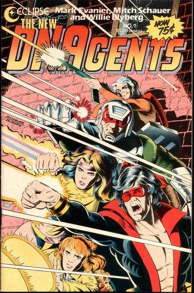 New DNAgents #1 comic books - cover scans photos New DNAgents #1 comic books - covers, picture gallery