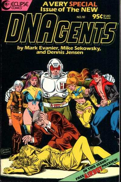 New DNAgents #10 comic books - cover scans photos New DNAgents #10 comic books - covers, picture gallery