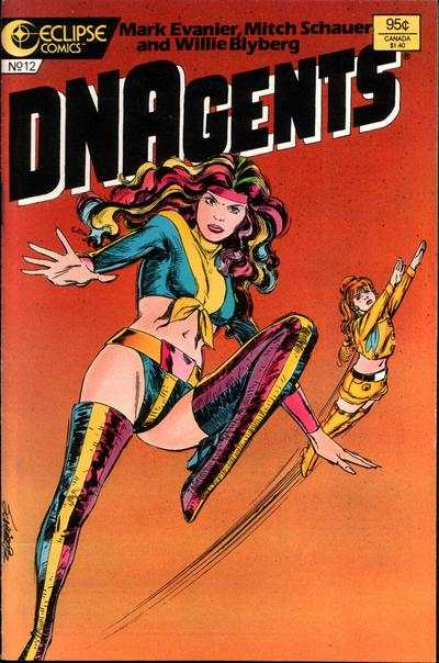New DNAgents #12 comic books - cover scans photos New DNAgents #12 comic books - covers, picture gallery