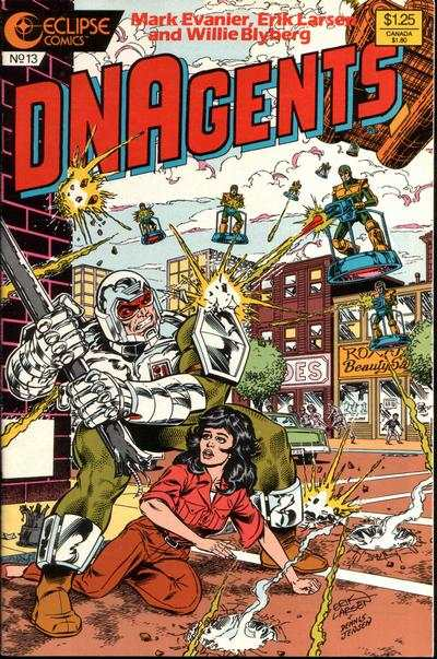 New DNAgents #13 comic books - cover scans photos New DNAgents #13 comic books - covers, picture gallery