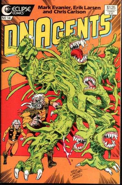 New DNAgents #14 comic books - cover scans photos New DNAgents #14 comic books - covers, picture gallery