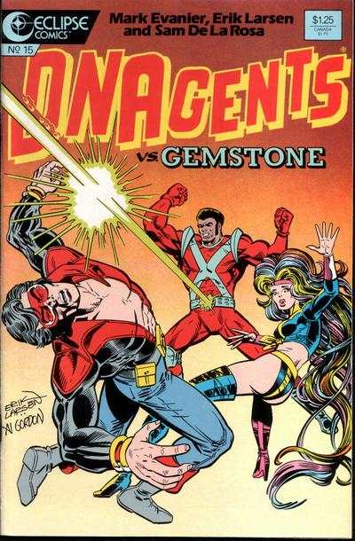 New DNAgents #15 Comic Books - Covers, Scans, Photos  in New DNAgents Comic Books - Covers, Scans, Gallery