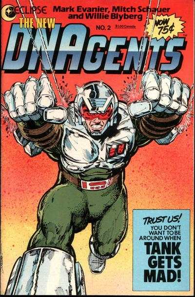 New DNAgents #2 cheap bargain discounted comic books New DNAgents #2 comic books