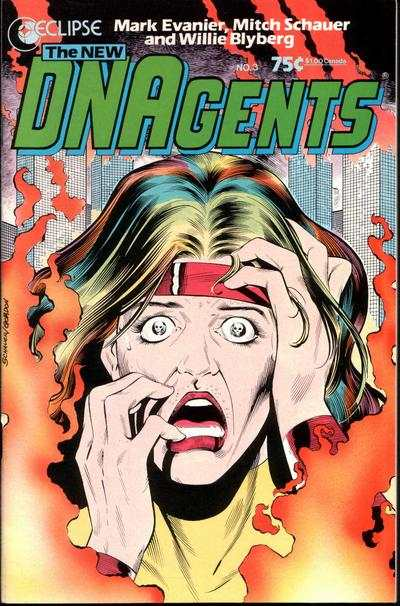 New DNAgents #3 comic books - cover scans photos New DNAgents #3 comic books - covers, picture gallery