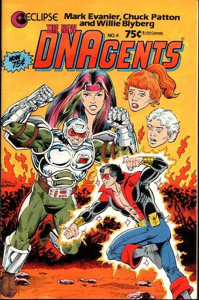 New DNAgents #4 comic books for sale
