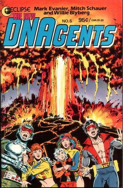 New DNAgents #5 Comic Books - Covers, Scans, Photos  in New DNAgents Comic Books - Covers, Scans, Gallery