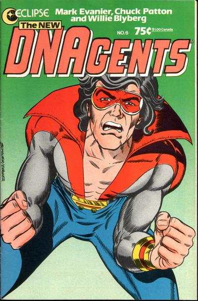 New DNAgents #6 comic books - cover scans photos New DNAgents #6 comic books - covers, picture gallery