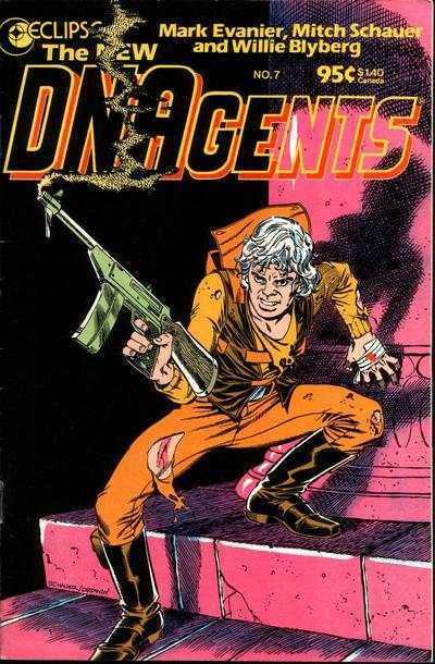 New DNAgents #7 comic books - cover scans photos New DNAgents #7 comic books - covers, picture gallery