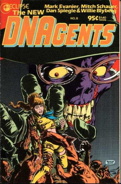 New DNAgents #8 comic books - cover scans photos New DNAgents #8 comic books - covers, picture gallery