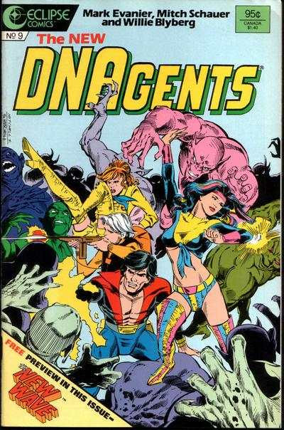 New DNAgents #9 comic books - cover scans photos New DNAgents #9 comic books - covers, picture gallery