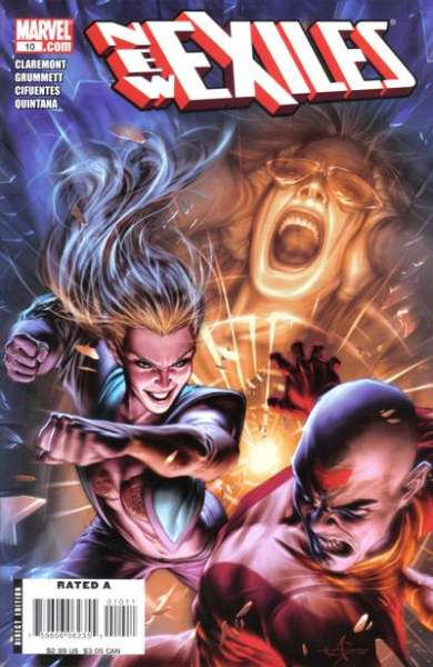 New Exiles #10 comic books - cover scans photos New Exiles #10 comic books - covers, picture gallery